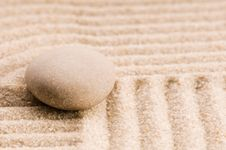 Free Zen. Stone And Sand Stock Images - 16326584