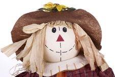 Free Halloween Scarecrow Decoration Closeup Stock Photo - 16326830