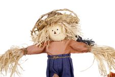 Free Halloween Scarecrow With Straw Hat Royalty Free Stock Photo - 16326835