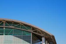 Free Ached Roof Stadium Sky Pillars Stock Photos - 16327163