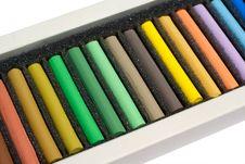 Free Set Of Crayons Stock Photo - 16328210