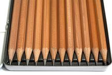 Free Set Of Pencils Stock Image - 16328281
