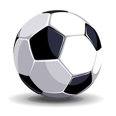 Free Isolated Soccer Ball Stock Photography - 16328782