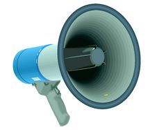 Free Megaphone Royalty Free Stock Images - 16329079