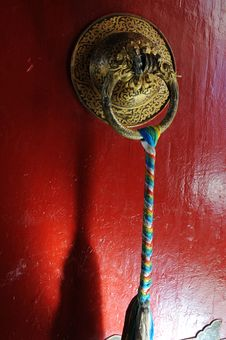 Free Tibetan Door Royalty Free Stock Images - 16329099
