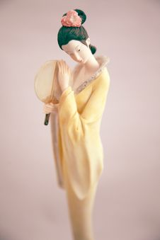 Free Statuette Of A Woman Stock Photos - 16329173