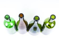 Colored Bottles Stock Photos