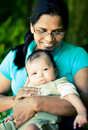 Free Grandmother Baby Stock Images - 16337434