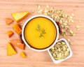 Free Pumpkin Soup Stock Photography - 16339012