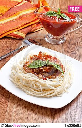 Free Spaghetti Stock Images - 16338684