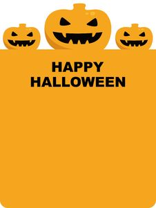 Free Halloween Pumpkin Background Illustration Stock Photos - 16330253