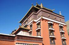 Free Tibetan Lamasery Royalty Free Stock Photography - 16330397