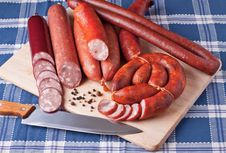 Free Sausages Royalty Free Stock Images - 16330519
