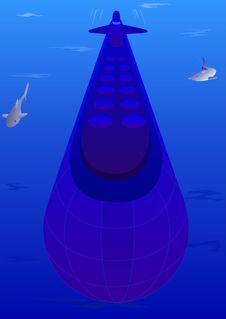 Free Submarine Stock Image - 16330701