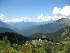 Free Mountain Village Royalty Free Stock Photo - 16330795