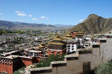 Free Scenery In Tibet Stock Images - 16330944