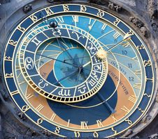 Free Astronomical Clock In Prague Stock Photos - 16331383