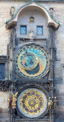 Free Astronomical Clock In Prague Stock Photo - 16331410