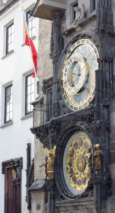 Free Astronomical Clock In Prague Stock Photos - 16331443