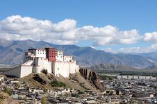 Scenery In Tibet Royalty Free Stock Photos