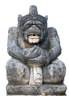 Free Balinese Sculpture Royalty Free Stock Photography - 16331717