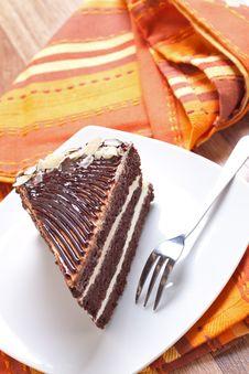 Free Chocolate Cake Royalty Free Stock Photo - 16331805
