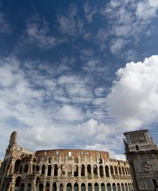 The Colosseum Stock Photos