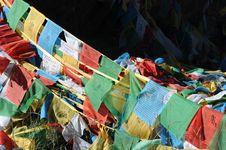 Free Prayer Flags Stock Image - 16332551