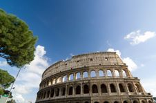 Free The Colosseum Royalty Free Stock Photo - 16332555