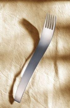 Free Designer Fork Royalty Free Stock Photo - 16332785