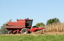 Free Red Combine Royalty Free Stock Image - 16332866