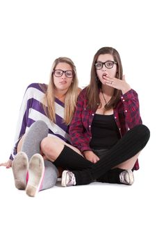 Free Teenage Friends Royalty Free Stock Images - 16333239