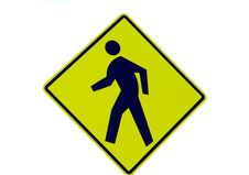 Free Pedestian Walking Sign Stock Photography - 16335562