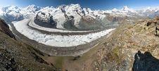 Free Matterhorn Panorama Royalty Free Stock Images - 16338489
