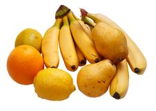 Free Yellow Fruit Royalty Free Stock Photo - 16338505