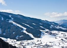 Free Ski Resort  Schladming . Austria Stock Photography - 16338802