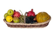 Free Apples, Pears, Pomegranates, Grapes And Melon Stock Photos - 16338963