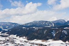 Free Ski Resort  Schladming . Austria Royalty Free Stock Photo - 16338965