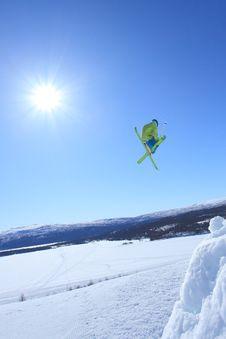 Free Ski Jump Stock Photo - 16339010