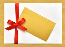 Free Holiday Envelop Royalty Free Stock Photography - 16339037