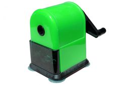 Green Sharpener Background Stock Photography