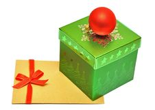 Free Box For Gifts Royalty Free Stock Photography - 16339157