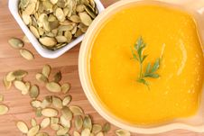 Free Pumpkin Soup Stock Photos - 16339453