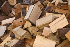 Free Stacked Logs Stock Image - 16339931