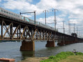 Free An Old Railroad Bridge In The Usa Stock Image - 16340471