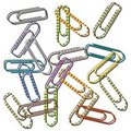 Free Paper Clips Royalty Free Stock Images - 16341389