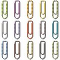 Free Paper Clips In Many Colors Royalty Free Stock Photos - 16341398