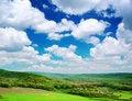 Free Green Meadow In Mountain Stock Image - 16345271