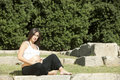 Free Beautiful Pregnant Woman Relaxing Royalty Free Stock Images - 16348879