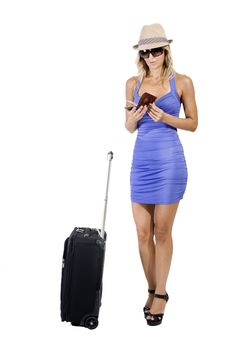 Free Travelling Woman Stock Images - 16340684